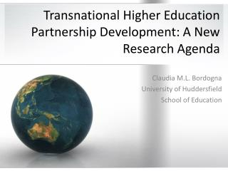 Transnational Higher Education Partnership Development: A New Research Agenda