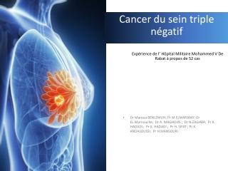 FACTEURS PRONOSTIQUES CLINIQUES DU CANCER DU SEIN