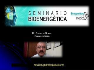 Dr. Rolando Bravo  Psicoterapeuta