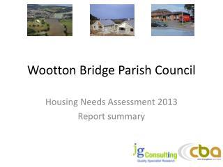 Wootton Bridge Parish Council