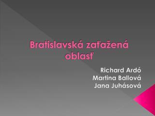 Bratislavská zaťažená oblasť