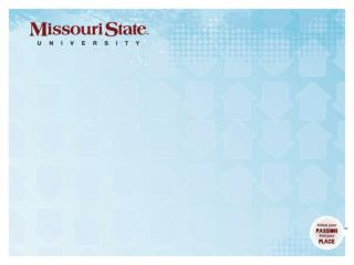 About Missouri State