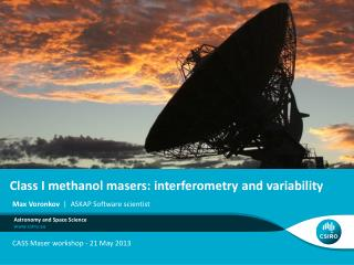 Class I methanol masers: interferometry and variability