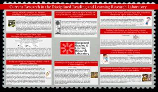 Current Research in the Disciplined Reading and Learning Research Laboratory