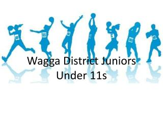 Wagga  District Juniors Under 11s