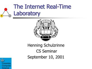 The Internet Real-Time Laboratory