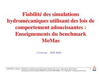 C.Chavant     EDF, R&D