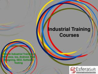 Industrial Training Courses