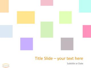 Title Slide –  your  text here
