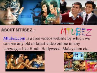 Latest hindi video songs - Mtubez