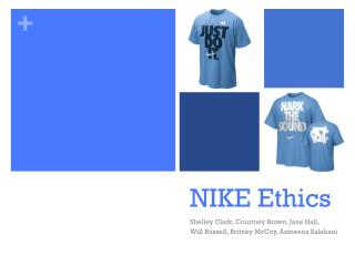 NIKE Ethics