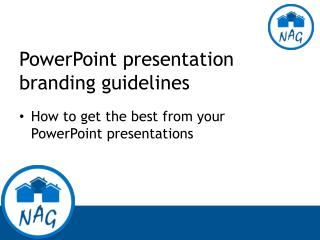 PowerPoint presentation branding guidelines