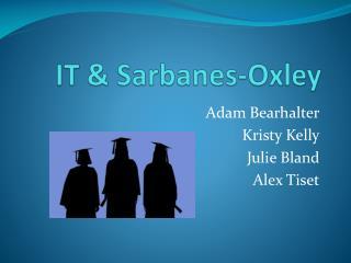 IT  Sarbanes-Oxley