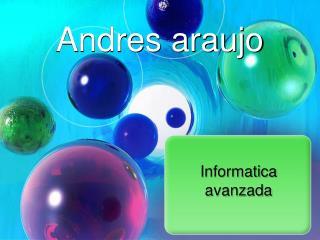 Andres araujo
