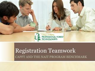 Registration Teamwork