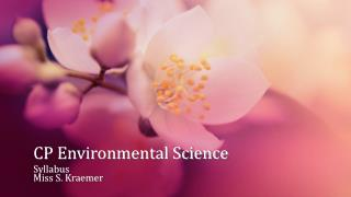CP Environmental Science