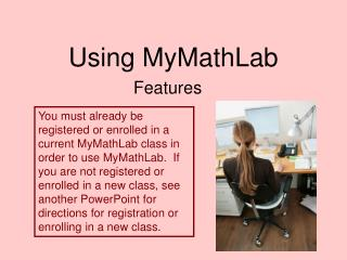 Using MyMathLab