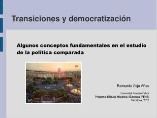 Transiciones y democratización