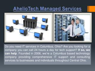 AhelioTech Columbus OH
