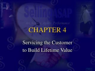 Servicing the Customer to Build Lifetime Value
