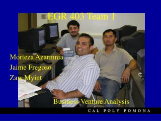 EGR 403 Team 1