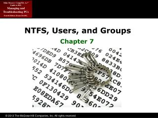 NTFS, Users, and Groups