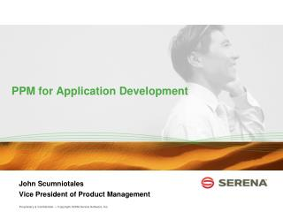 PPM for Application Development