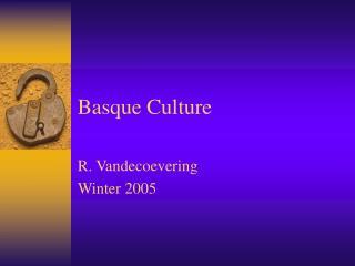 Basque Culture