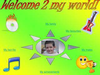 Welcome 2 my world!