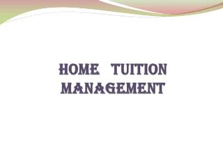 Home Tuition in ramnad