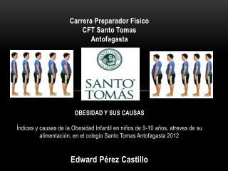 Carrera Preparador Físico CFT Santo Tomas Antofagasta