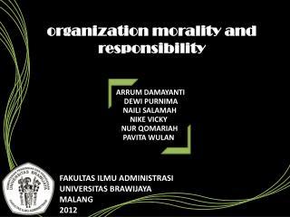 FAKULTAS ILMU ADMINISTRASI UNIVERSITAS BRAWIJAYA MALANG 2012