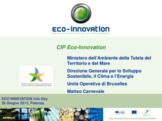 CIP Eco-Innovation