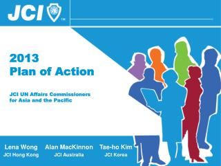 2013 Plan of Action JCI UN Affairs Commissioners for Asia and the Pacific