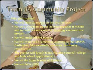 Team 8A Community Project