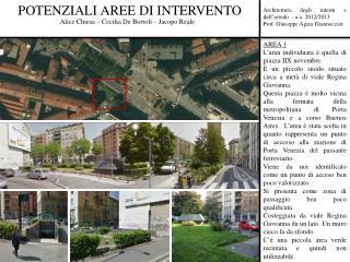 Architettura degli interni e dell'arredo  - a.a. 2012/2013 Prof. Giuseppe Agata Giannoccari