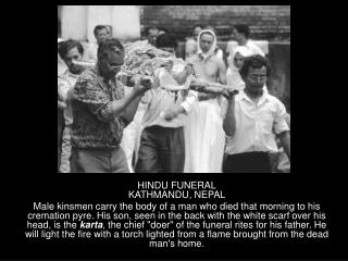 HINDU FUNERAL KATHMANDU, NEPAL