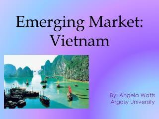 Emerging Market: Vietnam