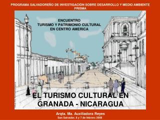 ENCUENTRO  TURISMO Y PATRIMONIO CULTURAL  EN CENTRO AMERICA