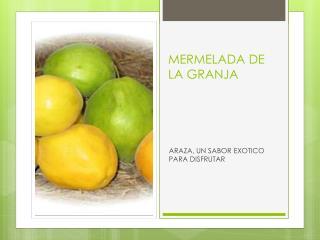 MERMELADA DE LA GRANJA