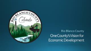 One County's Vision for  Economic Development