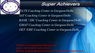 IELTS Coaching Center in Delhi-Gurgaon