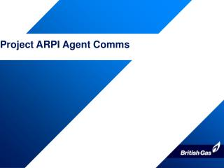 Project ARPI Agent Comms