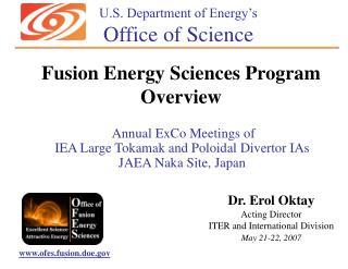 Annual ExCo Meetings of IEA Large Tokamak and Poloidal Divertor IAs JAEA Naka Site, Japan