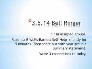 3.5.14  Bell Ringer