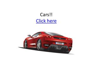 Cars !! Click here