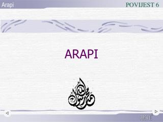 ARAPI