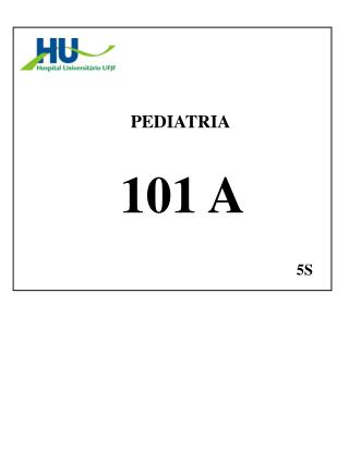 PEDIATRIA  101 A