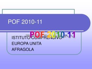 POF 2010-11