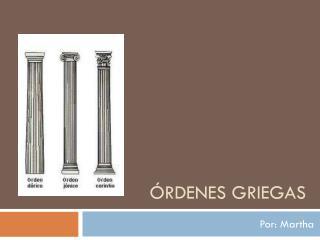 Órdenes griegas